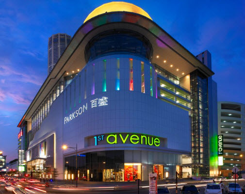 First Avenue 6 best malls in Penang