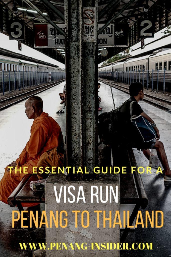 Penang Thailand Visa Run