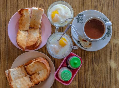 roti bakar in Penang