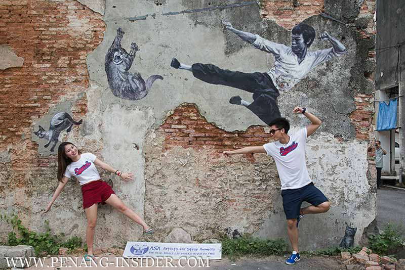 things to do in penang street art