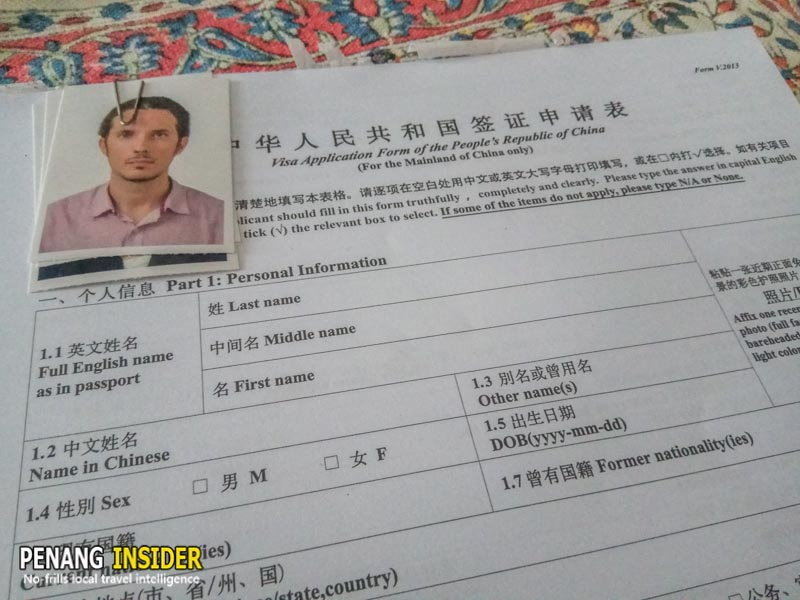 Ultimate Guide To Getting A Chinese Visa In Penang Malaysia Penang Insider