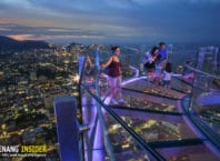 the Top Komtar Pennag Skywalk