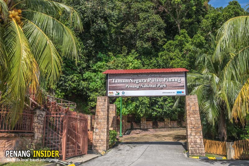 penang national park entrance