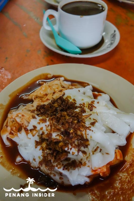 Chee Chong Fun at Stall C37: Pusat Penjaja Taiping food