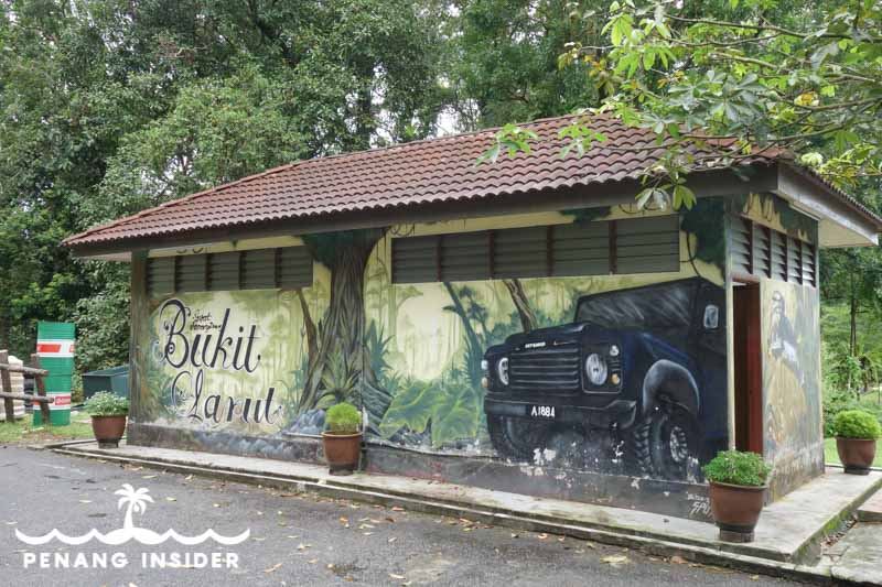 The Bukit Larut Land-Rover pick up point, Taiping Perak