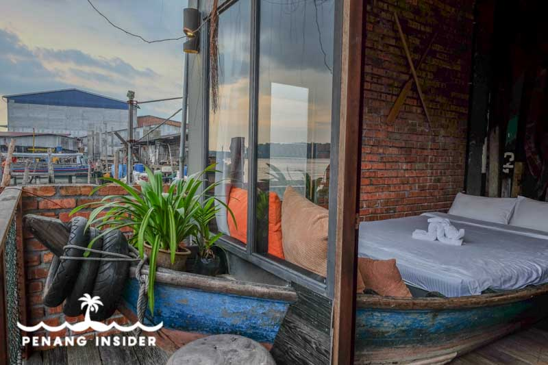 Room with a view at Happy8 Kuala Sepetang