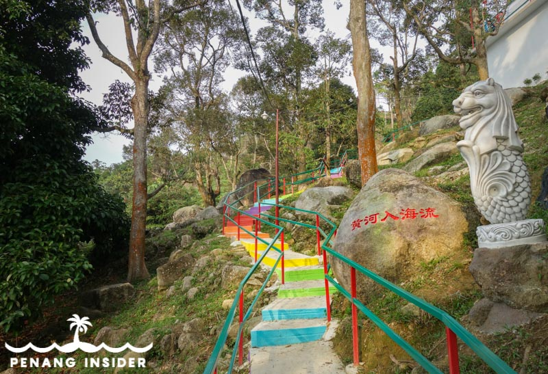 328 Rainbow Staircase Flower Hill Berapit hiking