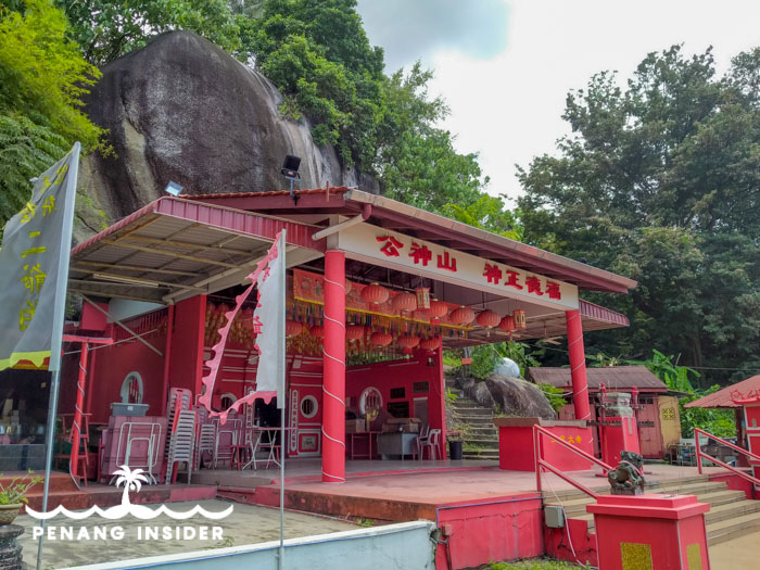 The Yew Bee Temple in Taman Island Glades, Penang.